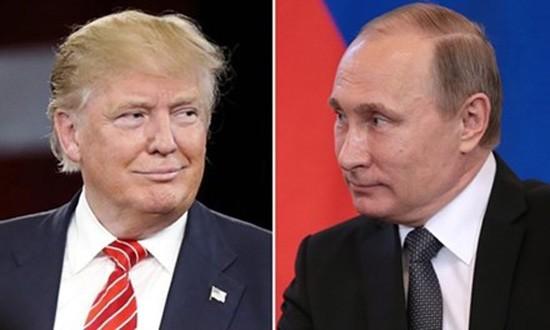 Presiden Rusia Vladimir Putin dan Presiden terpilih AS, Donald Trump melakukan pembicaraan telepon - ảnh 1