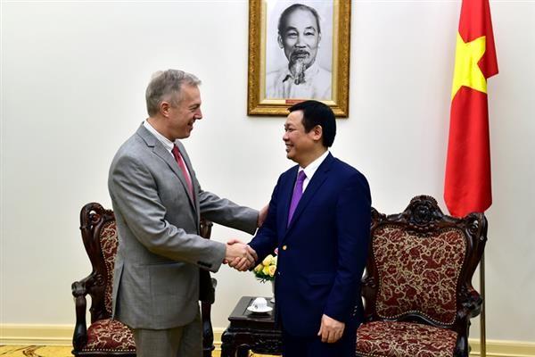 Vietnam-AS mendorong secara kuat dan komprehensif hubungan bilateral - ảnh 1