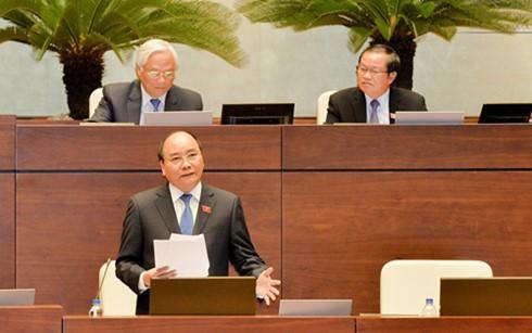MN Vietnam melakukan interpelasi terhadap PM Nguyen Xuan Phuc - ảnh 1