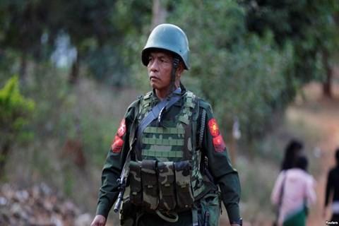 Tiongkok menyerukan semua fihak  di Myanmar mengekang diri - ảnh 1