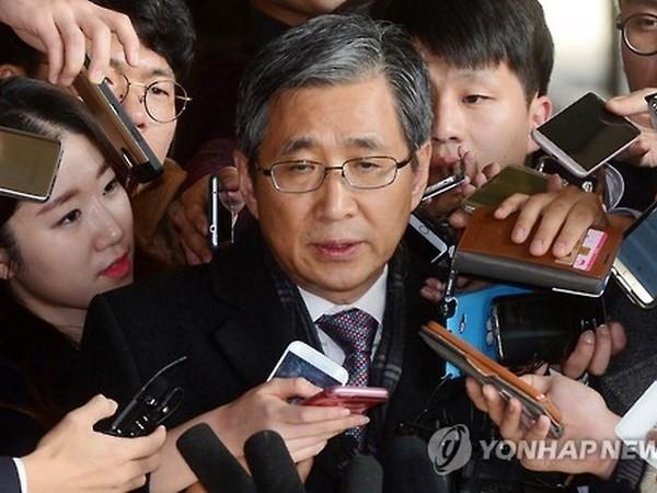 Pengadilan Republik Korea menolak permintaan untuk menangkap mantan sekretaris Presiden Park Guen-hye - ảnh 1