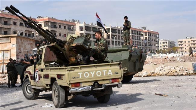 Tentara Suriah menduduki kembali kabupaten Masaken Hanano, Aleppo sebelah Timur - ảnh 1