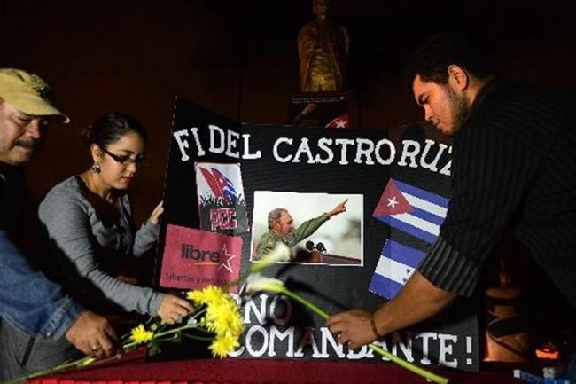 Negara-negara Amerika Latin mengenangkan Almarhum Pemimpin Fidel Castro - ảnh 1