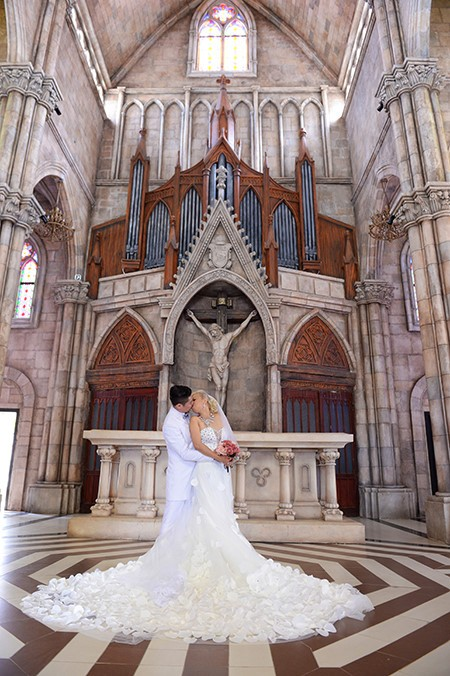 Sebuah Ba Na romantis pada musim pernikahan  - ảnh 3