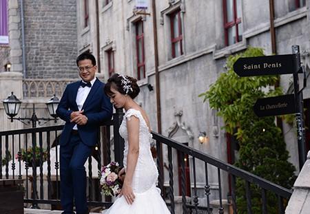 Sebuah Ba Na romantis pada musim pernikahan  - ảnh 6