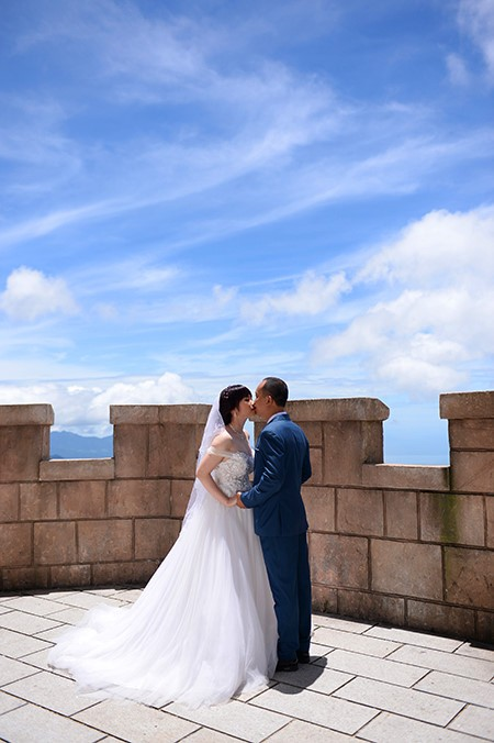 Sebuah Ba Na romantis pada musim pernikahan  - ảnh 8