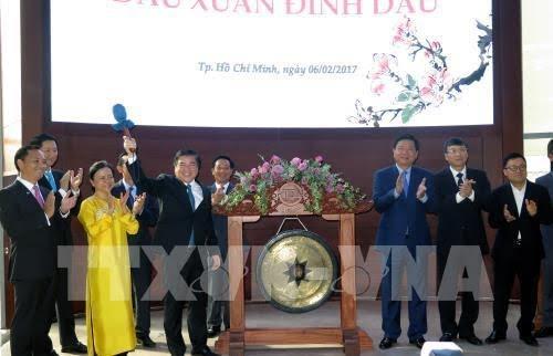 Bursa efek kota Ho Chi Minh – Kanal memobilisasi modal untuk perkembangan ekonomi Vietnam - ảnh 1