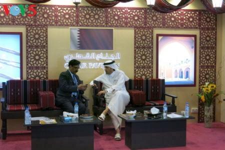Tiga puluh tiga  badan usaha Vietnam menyosialisasikan pertanian hijau di Pekan Raya Gulfood, Dubai  - ảnh 17