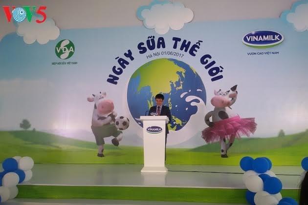 Vietnam menyambut Hari Susu Dunia (1/6) - ảnh 1