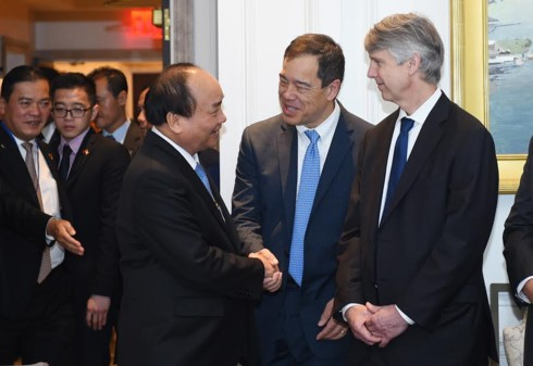 PM Vietnam, Nguyen Xuan Phuc ingin AS menjadi mitra dagang terbesar bagi Vietnam - ảnh 1