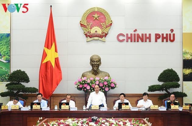 Sidang periodik Pemerintah Vietnam untuk bulan Mei 2017 - ảnh 1