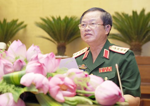 Wakil Ketua MN Vietnam, Nguyen Ba Ty melakukan pertemuan dengan delegasi Markas Komando Polisi Laut - ảnh 1