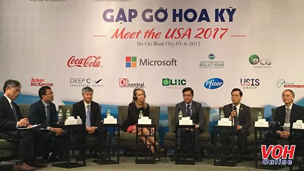"""Konferensi """"Pertemuan AS 2017"""" sekali lagi menegaskan hubungan kerjasama yang komprehensif  Vietnam-AS - ảnh 1"""