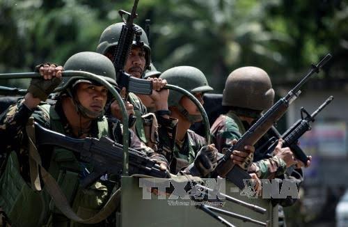 Filipina mengkonfirmasikan kaum pembangkang mengontrol 20%nya kota Marawi - ảnh 1