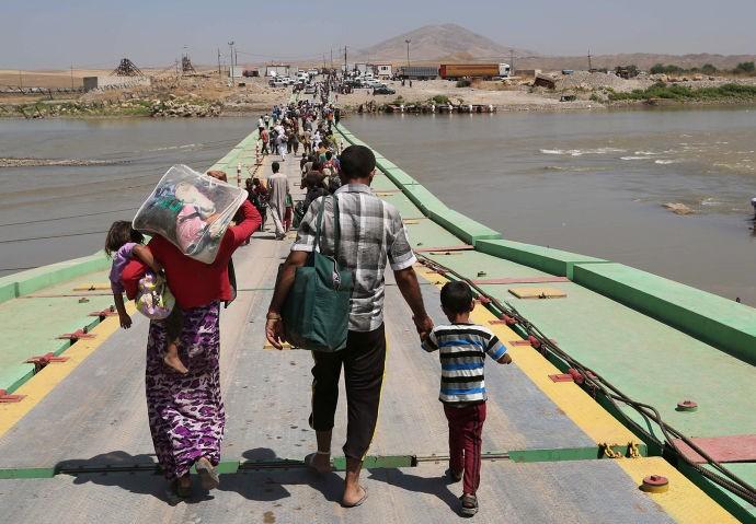 Irak dan Suriah melakukan pertemuan puncak tentang keamanan perbatasan - ảnh 1