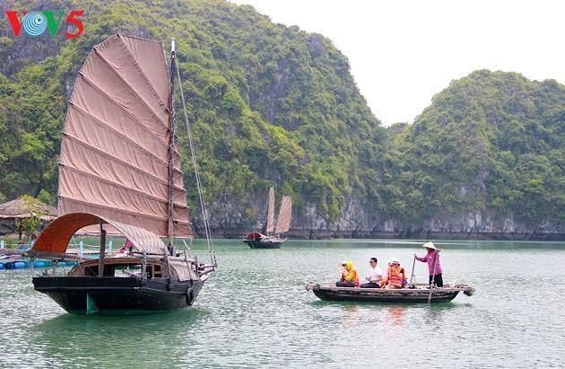 Kaum nelayan di teluk Ha Long: Mengusahakan mata pencaharian berkat hidup secara harmonis dengan laut - ảnh 2