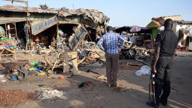 Terjadi serangan bom bunuh diri di Nigeria Timur Laut, menewaskan 20 orang - ảnh 1