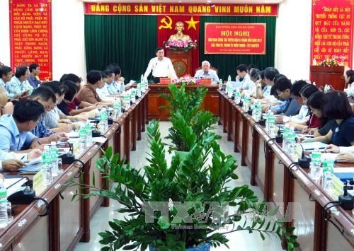 Badan Komunikasi  dan Pendidikan daerah-daerah berinisiatif dalam pekerjaan memberikan masukan - ảnh 1