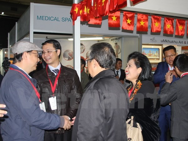 Vietnam ikut serta dalam Pekan raya perdagangan internasional SAITEX – Afrika Selatan tahun 2017 - ảnh 1