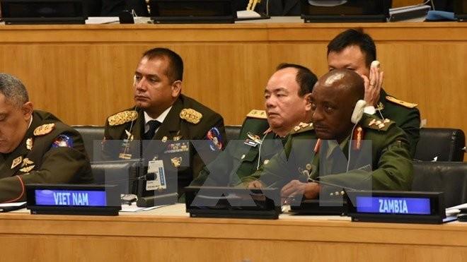 Vietnam punya komitmen politik jelas dan langkah kongkrit dalam ikut menjaga perdamaian - ảnh 1