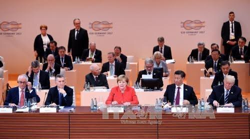 Negara-negara peserta G20 berkomitmen akan mencegah pemberian bantuan keuangan kepada terorisme - ảnh 1