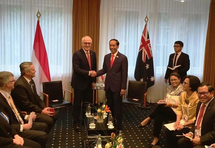 Australia dan Indonesia sepakat menyelesaikan Perjanjian IA-CEPA pada akhir tahun 2017 - ảnh 1