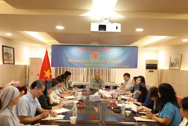 Asosiasi orang Vietnam di Republik Korea mendorong keterkaitan hubungan Vietnam-Republik Korea - ảnh 1