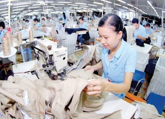 Total nilai ekspor tekstil dan produk tekstil Vietnam meningkat drastis pada 6 bulan awal tahun 2017 - ảnh 1