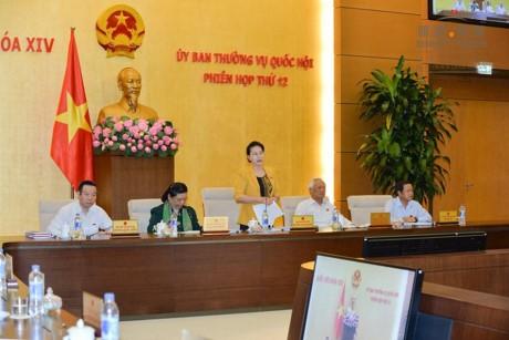 Acara penutupan persidangan ke-12 Komite Tetap MN Vietnam - ảnh 1