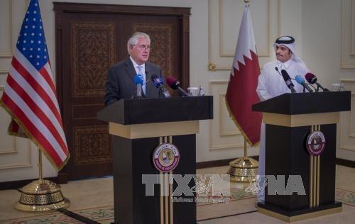 AS dan Perancis mengusahakan jalan ke luar untuk krisis di Teluk - ảnh 1