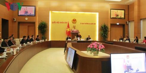 Ketua MN Nguyen Thi Kim Ngan melakukan pertemuan dengan Kepala Kantor-Kantor Perwakilan Diplomatik Vietnam di luar negeri - ảnh 1
