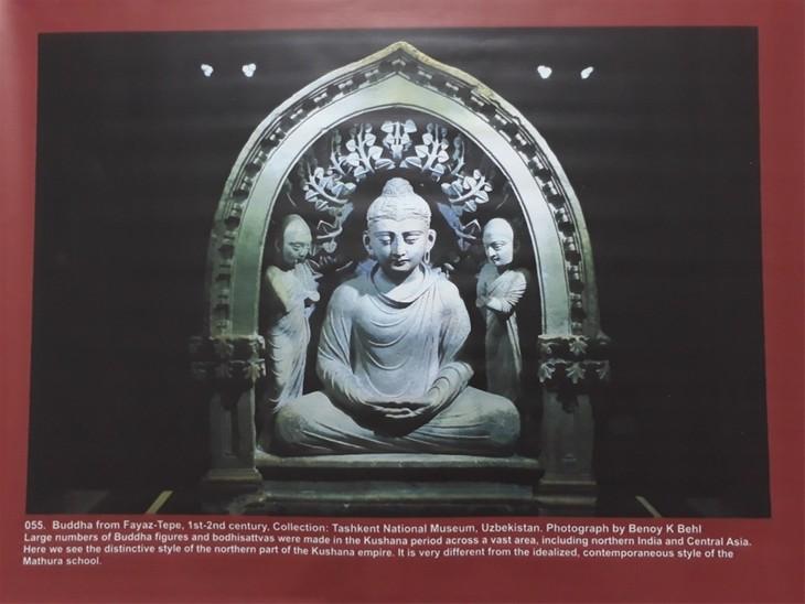 Pameran pusaka agama Buddha dari Fotografer India - ảnh 1