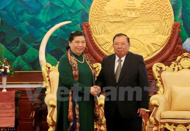 Memupuk dan mengembangkan hubungan solidaritas istimewa Vietnam-Laos - ảnh 1