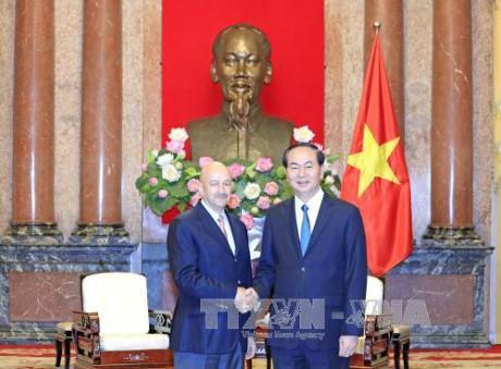Vietnam ingin memperkuat hubungan kerjasama komprehensif dengan Meksiko - ảnh 1