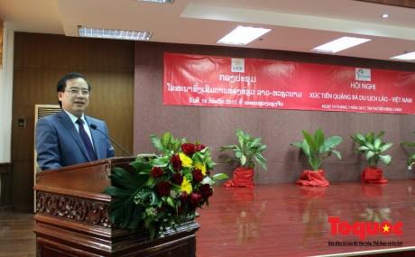 Konferensi promosi dan sosialisasi pariwisata Laos-Vietnam - ảnh 1