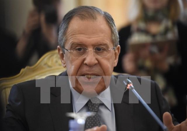 Rusia bersedia menjadi perantara dari kerujukan bagi ketegangan diplomatik di kawasan Teluk - ảnh 1