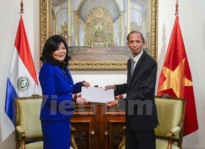 Vietnam dan Paraguay mendorong hubungan kerjasama - ảnh 1