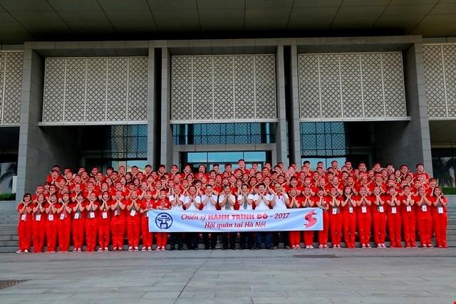 Tiga puluh delapan ribu unit darah telah disumbangkan melalui kampanye Perjalanan Merah tahun 2017 - ảnh 1