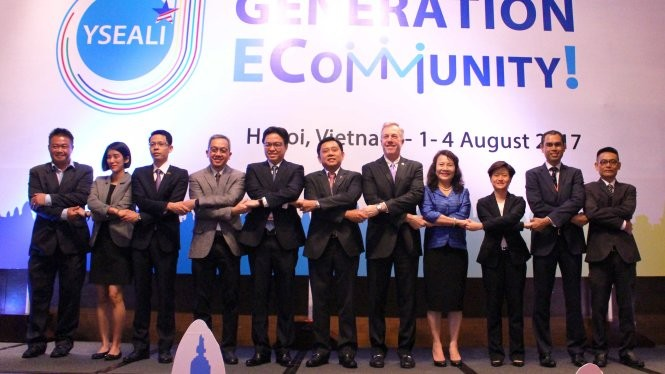Lokakarya Gagasan pemimpin muda Asia Tenggara Ecommunity - ảnh 1