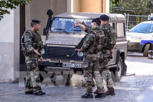Perancis menangkap seorang tersangka yang bersangkutan dengan serangan teror dengan mobil - ảnh 1