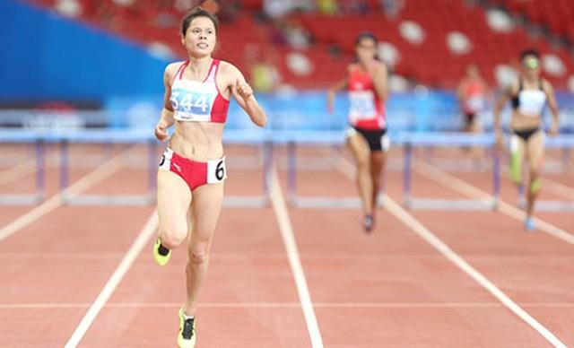 """Atletik - """"Tambang emas"""" bagi olahraga Vietnam pada Seagames 29 - ảnh 1"""