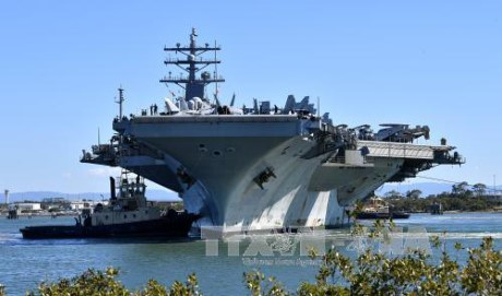 AS menegaskan akan tetap mempertahankan rencana latihan perang dengan Republik Korea - ảnh 1