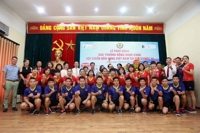 Tim penembak Vietnam berupaya meraih 3 medali emas pada Sea Games 29 - ảnh 1