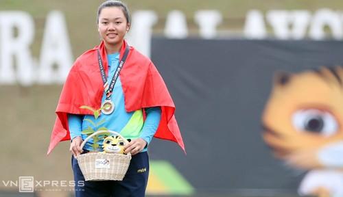 Vietnam meraih medali perak pertama di Sea Games 29 - ảnh 1