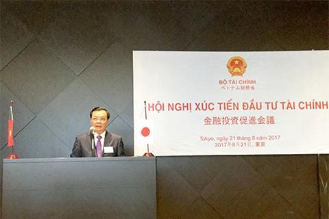 Mendorong badan usaha Jepang melakukan investasi di bidang keuangan di Vietnam - ảnh 1