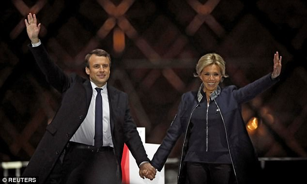 Posisi resmi untuk Istri Presiden Perancis, E.Macron - ảnh 1