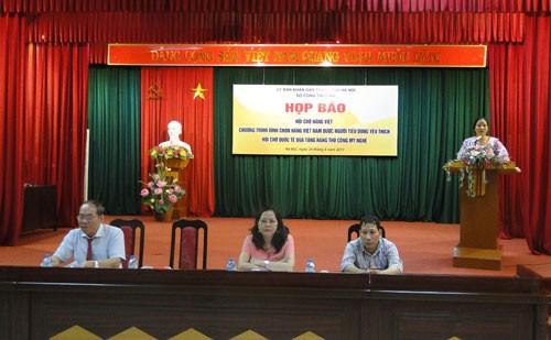 Pekan raya internasional cindera mata kerajinan tangan dan artistik Hanoi 2017 - ảnh 1