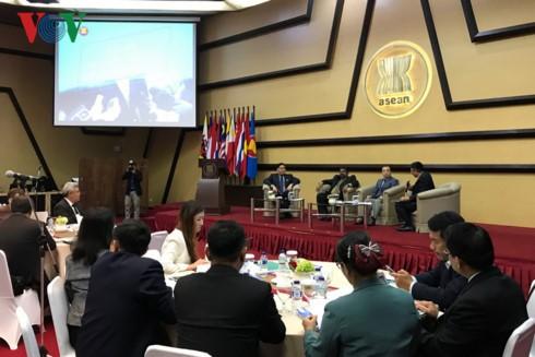 Vietnam menghadiri dialog tentang informasi komunikasi ASEAN - ảnh 1