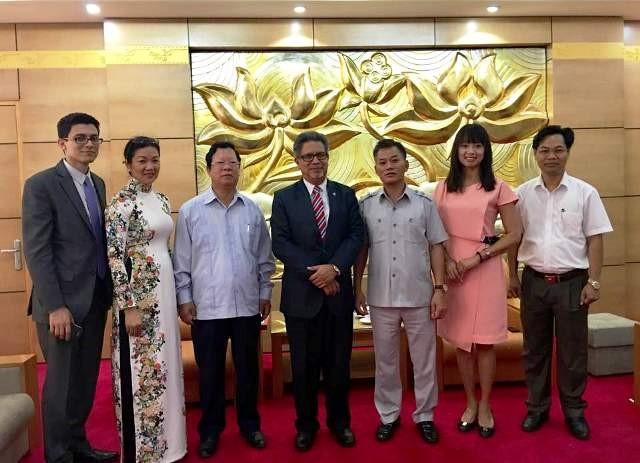 Mendorong solidaritas dan persahabatan Vietnam-El Salvador - ảnh 1