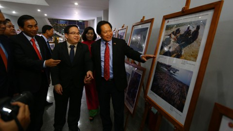 Pameran foto dan film reportase - dokumenter dalam komunitas ASEAN di Vietnam - ảnh 1